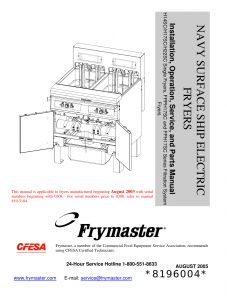 Imperial Deep Fryer Wiring Diagram - Imperial Deep Fryer Wiring Diagram Fresh Pitco Fryer Troubleshooting Manual Image Collections Free 19t