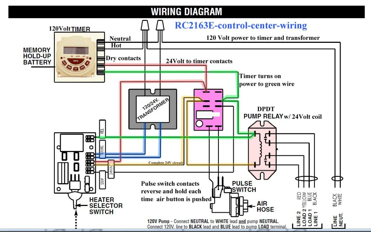 Lighting Contactor Wiring Diagram With Timer - Wiring ... on