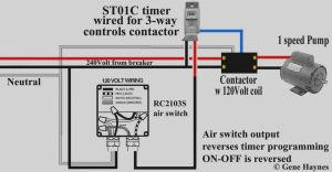Intermatic Timer T104 Wiring Diagram - Collection T104m Timer Wiring Diagram White Neutral Wire Intermatic T101 Sprinkler 240v St01 Digital 14h