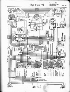 International Truck Radio Wiring Diagram - 1957 Thunderbird 3b