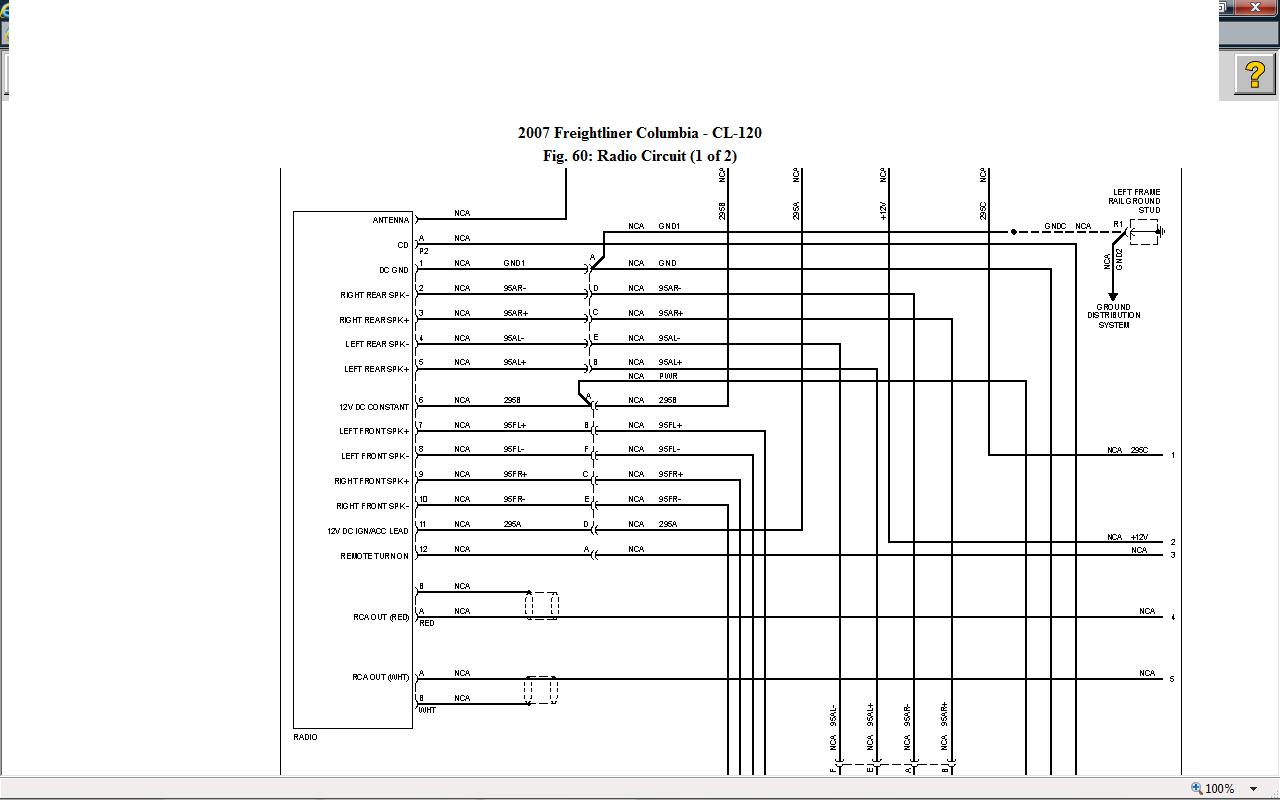 international truck radio wiring diagram Collection-Kenworth T800 Fuse Panel Diagram Best Car Wiring Freightliner Columbia Wiring Diagram Kenworth Truck 19-o