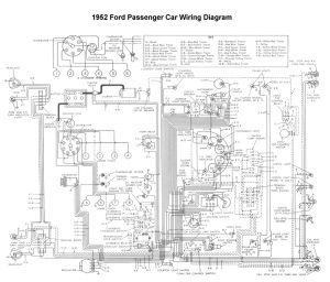 International Truck Wiring Diagram - Wiring for 1952 ford Car 11q