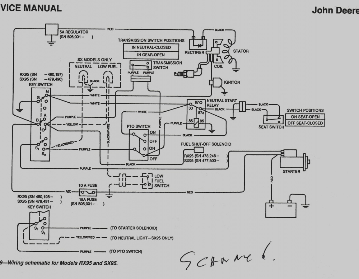 john deere fuel filter diagrams get john deere l110 wiring diagram download