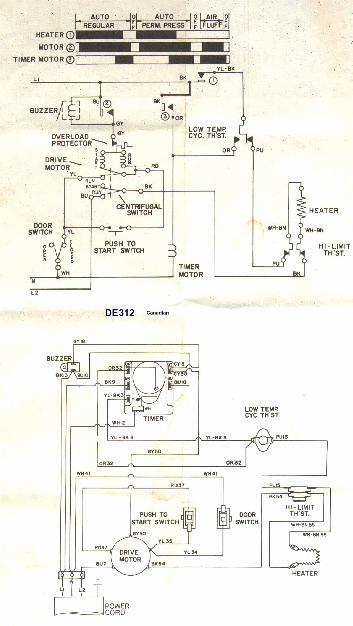 kenmore elite dryer heating element wiring diagram Collection-Wiring Diagram Sheets Detail Name kenmore dryer power cord wiring diagram – Whirlpool Dryer Heating Element 18-m
