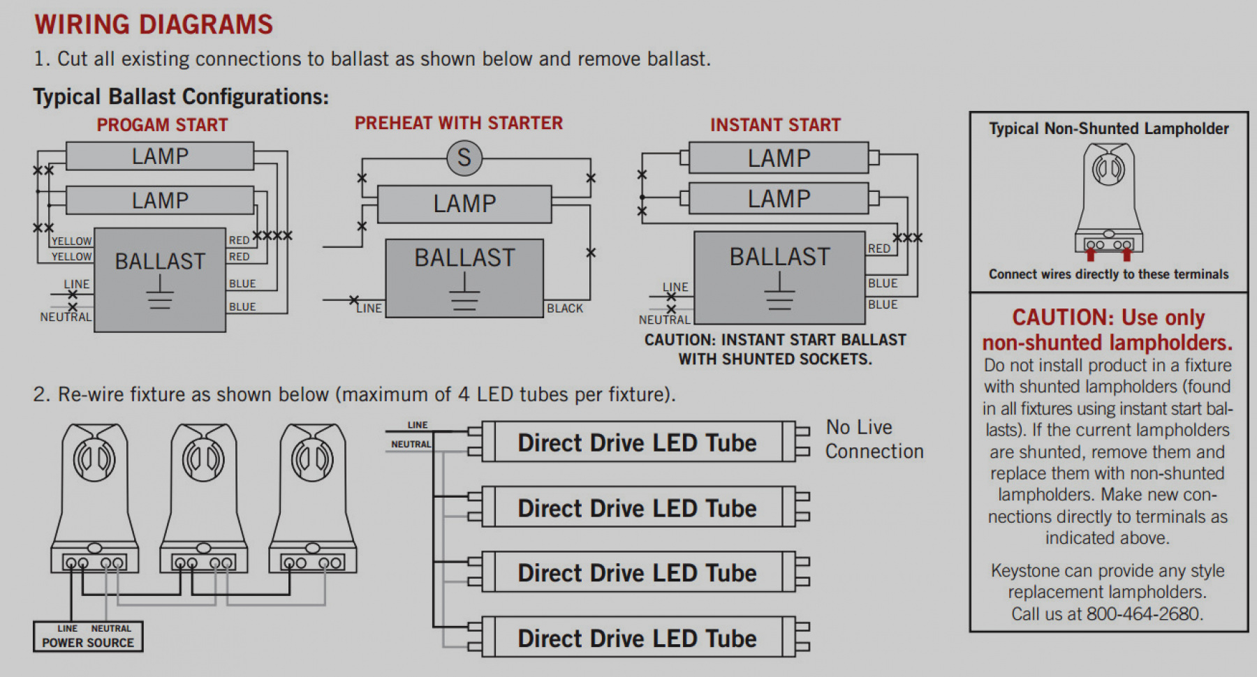 Find Out Here Led Fluorescent Tube Replacement Wiring Diagram Download