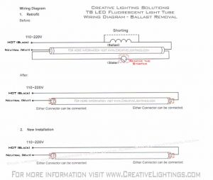 Led Fluorescent Tube Replacement Wiring Diagram - Led Tube Light Wiring Diagram New Cool Led Tube Wiring Diagram Inspiration Electrical and 10s