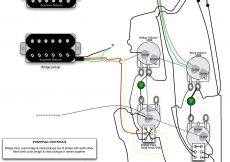 Les Paul Coil Tap Wiring Diagram - Guitar Wiring Diagram Coil Tap Inspirationa Les Paul Electric Guitar Wiring Schematics Example Electrical 5q