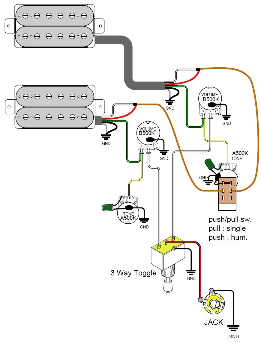 Collection Of Les Paul Coil Tap Wiring Diagram Sample
