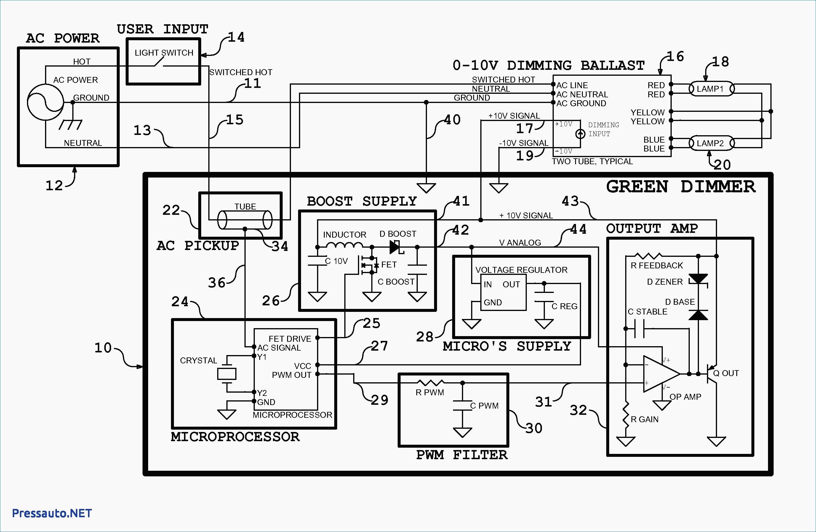Gallery Of Lifud Led Driver Wiring Diagram Sample