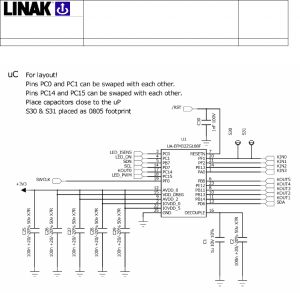 Linak Actuator Wiring Diagram - Technical Description for 15n