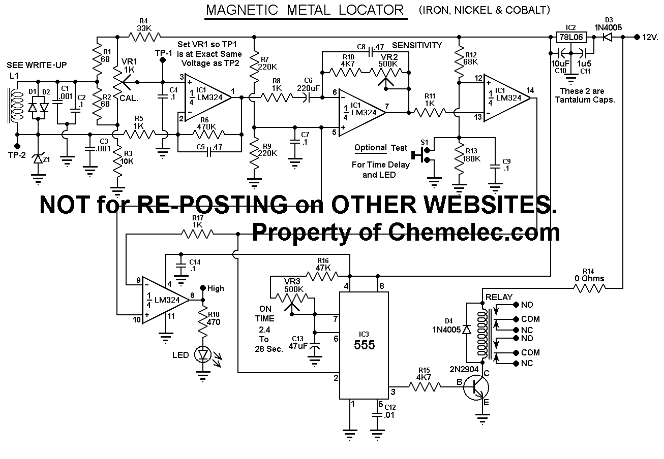loop detector wiring diagram Download-Detector 3 Schematic 17-c