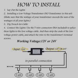 Low Voltage Landscape Lighting Wiring Diagram - New Low Voltage Landscape Lighting Wiring Diagram Awesome Amazon Exelent Ideas Everything You Beautiful Installing Landscaping Lights Light Bulbs Volt 13o