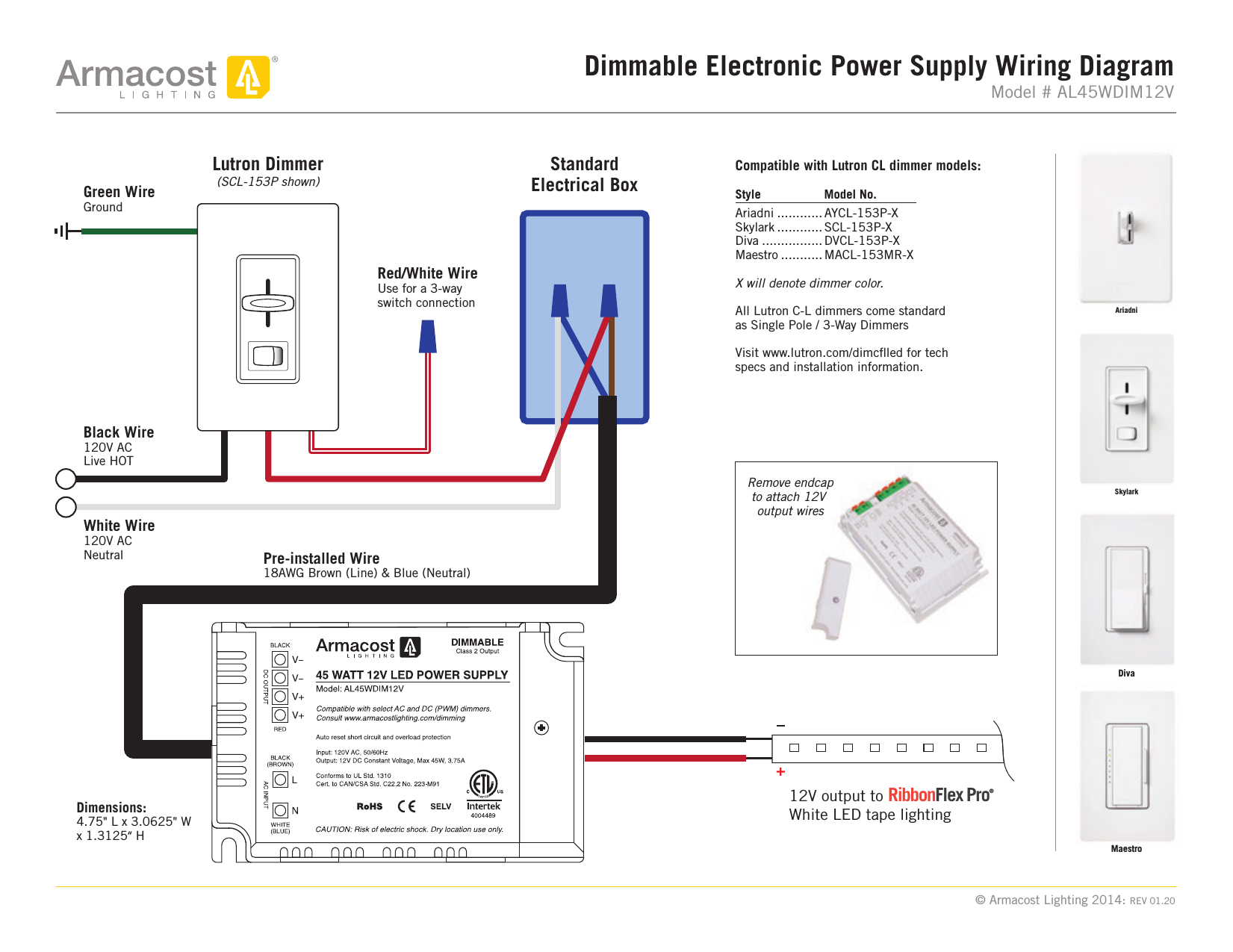 Collection Of Lutron Caseta Wiring Diagram Sample