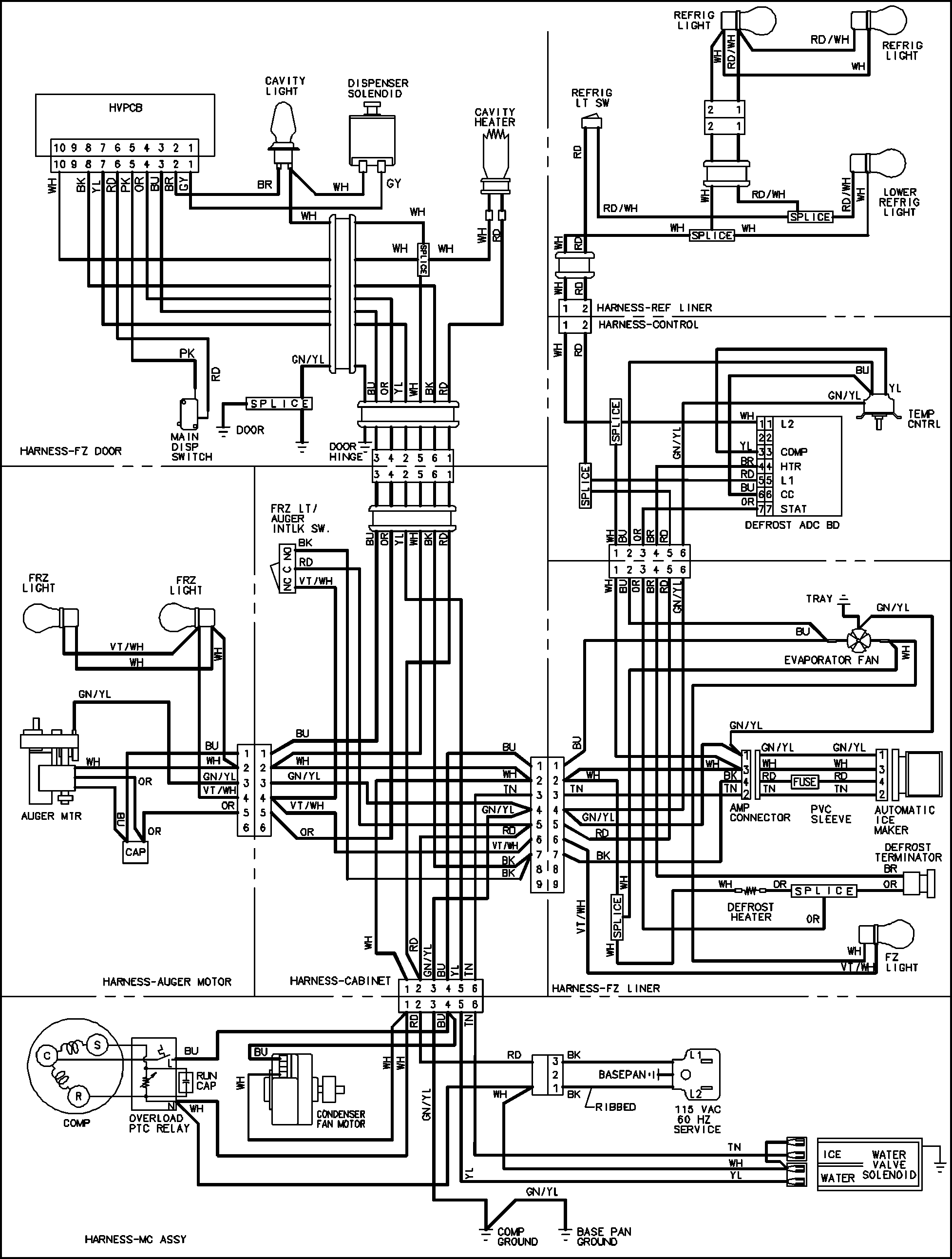 maytag refrigerator wiring diagram Download-Maytag Refrigerator Wiring Diagram Best Maytag Maytag Refrigeration Parts Model Msd2651hew 2-n