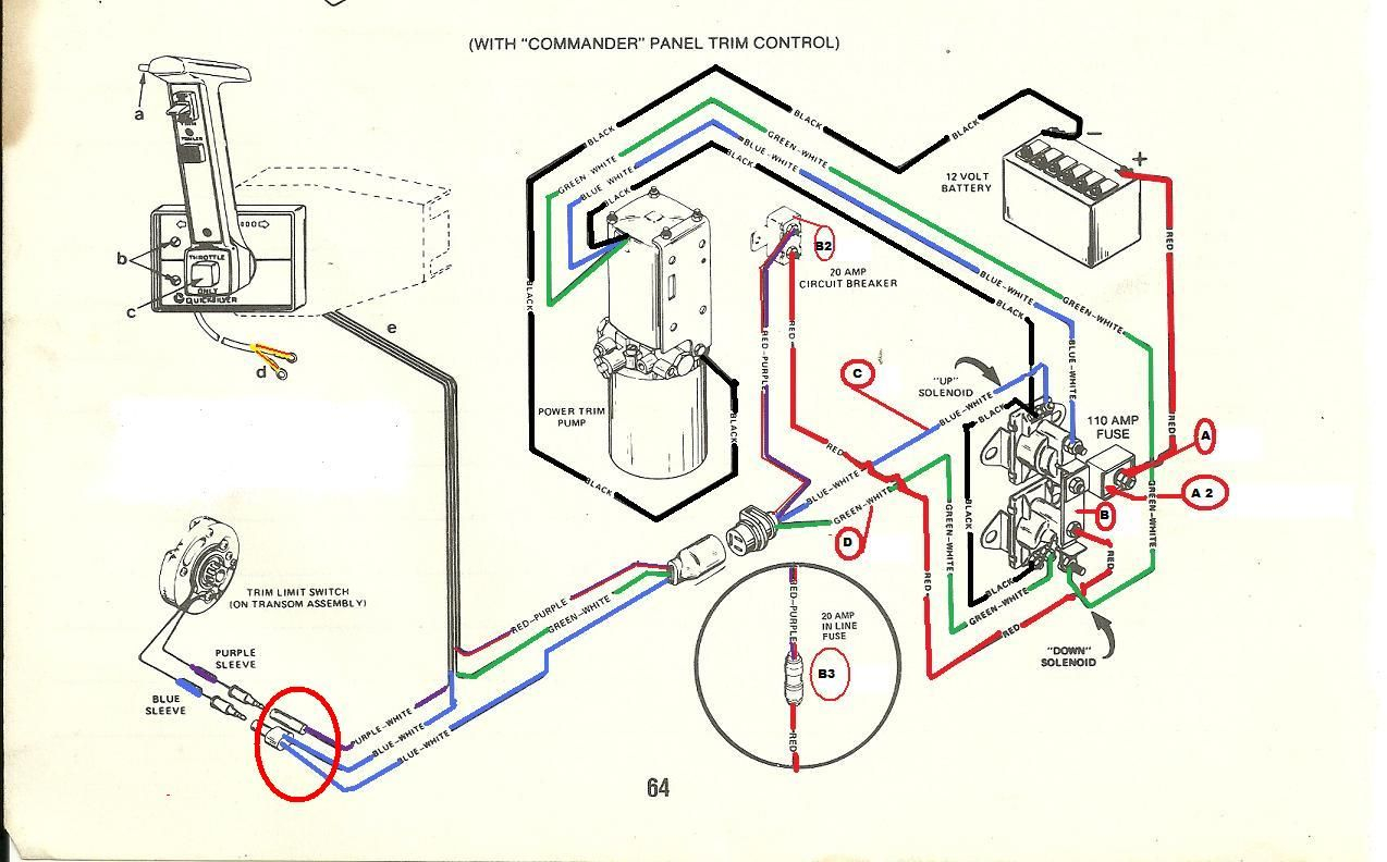 mercury trim motor wiring diagram Collection-Mercruiser Trim Solenoid Wiring Diagram Yahoo Image Search Results 5-o