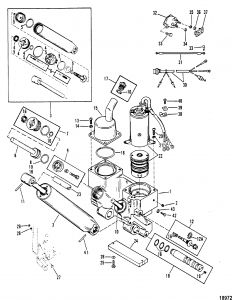 Mercury Trim Motor Wiring Diagram - Power Trim Ponents for Mariner Mercury 90 115 H P Inline 11b