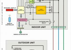 Mitsubishi Split System Wiring Diagram - Mitsubishi Mini Split Wiring Diagram for Split System Air Conditioner Wiring Diagram Famous Including 18b