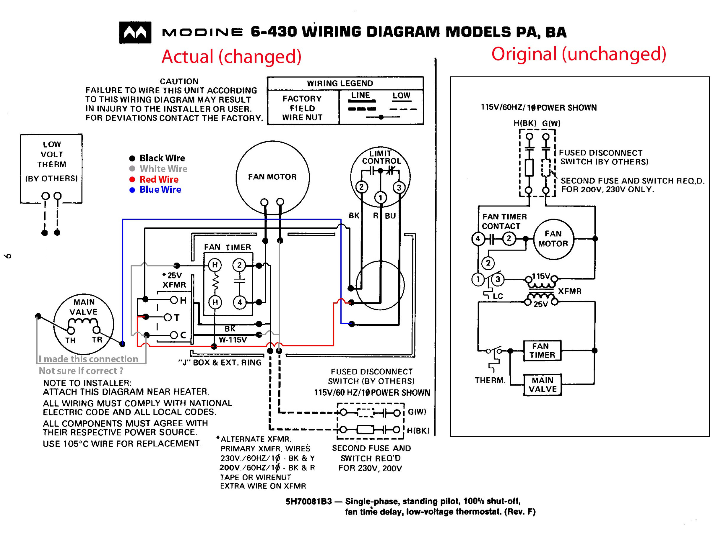 modine gas heater wiring diagram Collection-modine gas heater wiring diagram wire center u2022 rh insurapro co 12-r