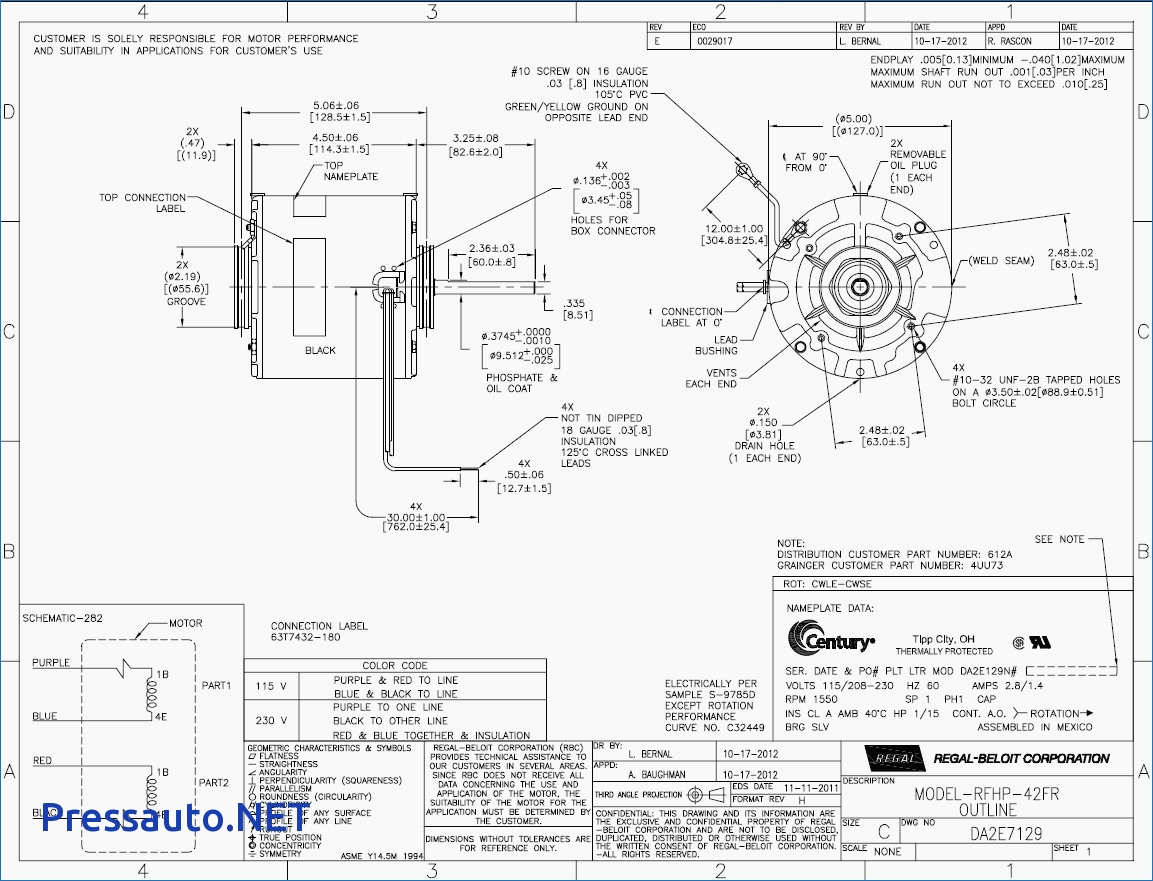 Unit Dayton Diagram Wiring Heater E A on
