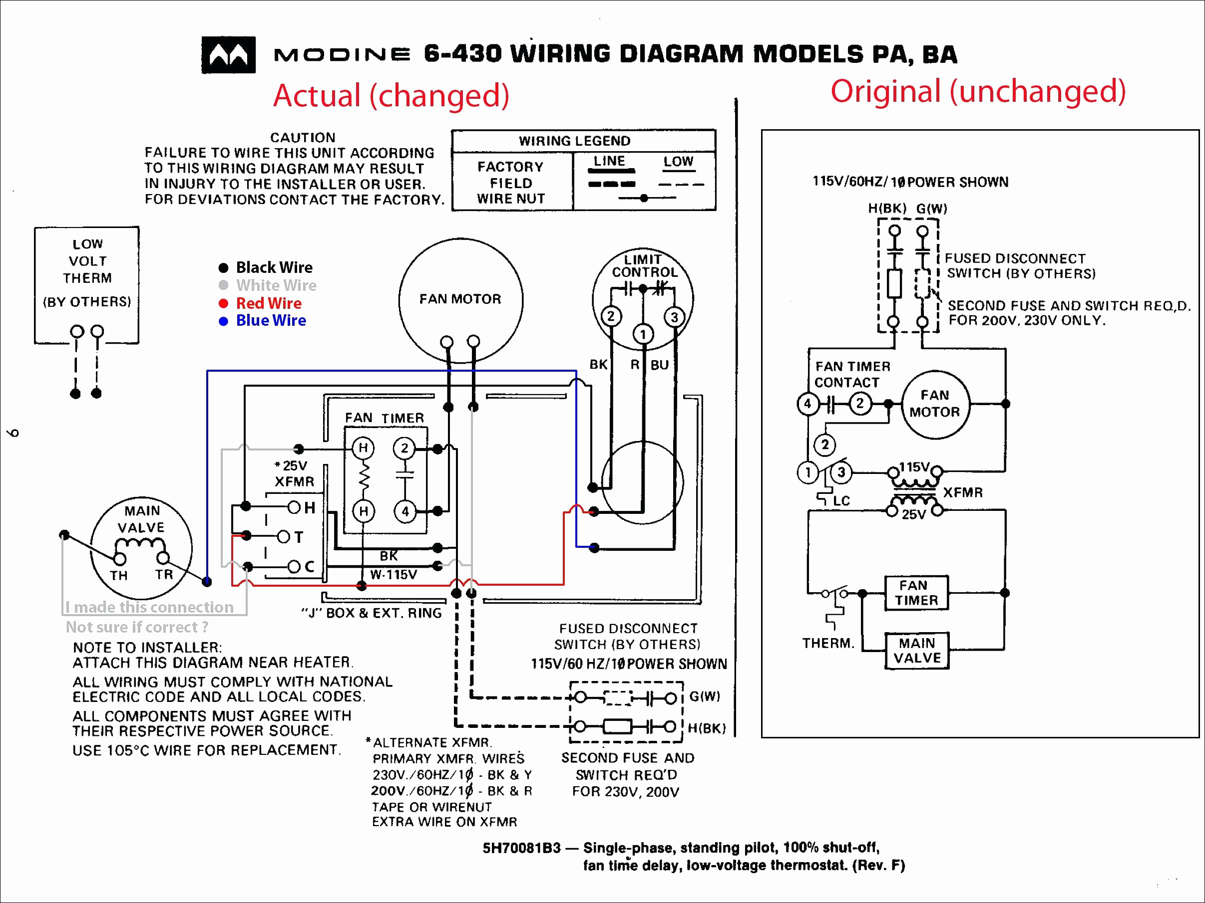 modine heater wiring diagram Collection-Modine Heater Parts Diagram for Amazing Trane Gas Furnace Wiring Diagram Image Electrical Diagram 2-t