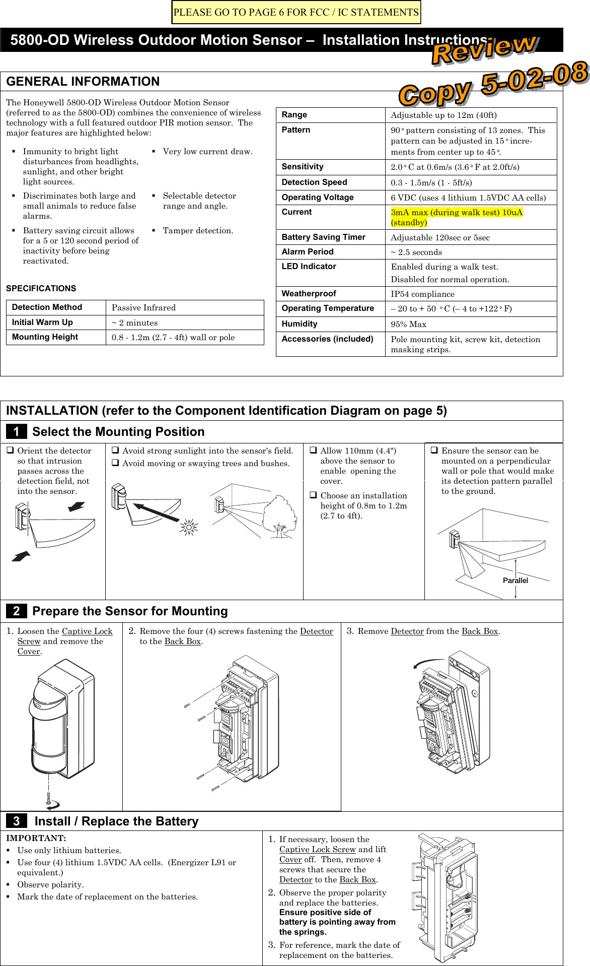 Collection Of Motion Detector Wiring Diagram Sample