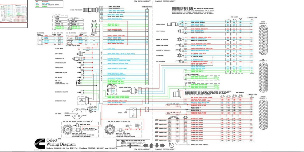 n14 ecm wiring diagram your wiring diagram Cummins N14 Wiring Schematic