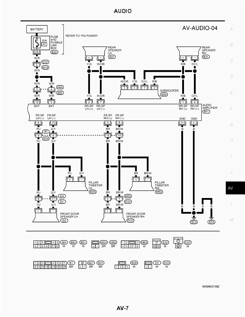 Gallery Of Nissan Frontier Rockford Fosgate Wiring Diagram Sample