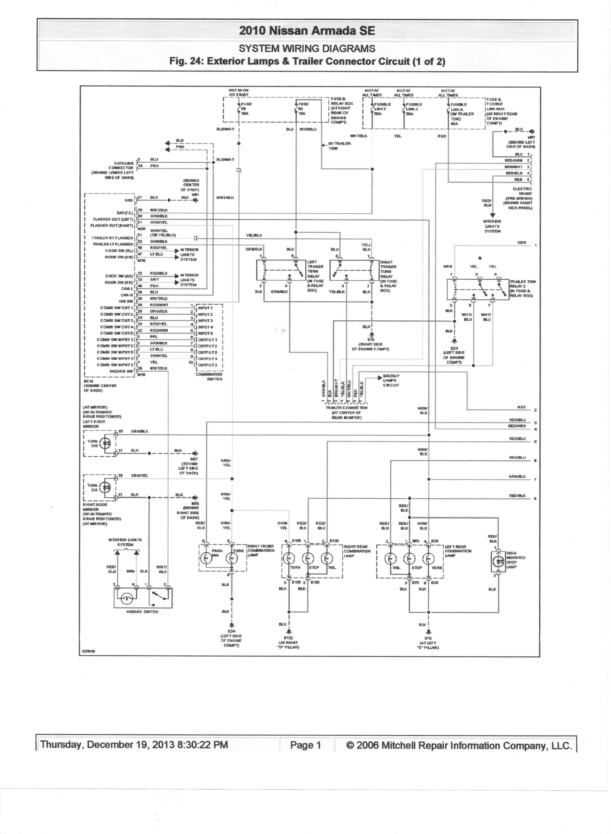 nissan titan trailer wiring harness diagram Download-Nissan Trailer Wiring Diagram Best Trailer Wiring Diagram Nissan Titan Valid Trailer Wiring Diagram 12-i