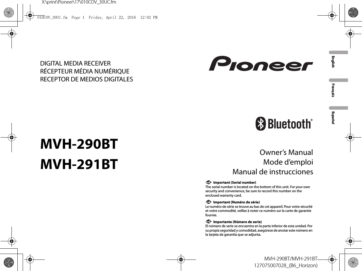 Collection Of Pioneer Avh 291bt    Wiring       Diagram    Sample