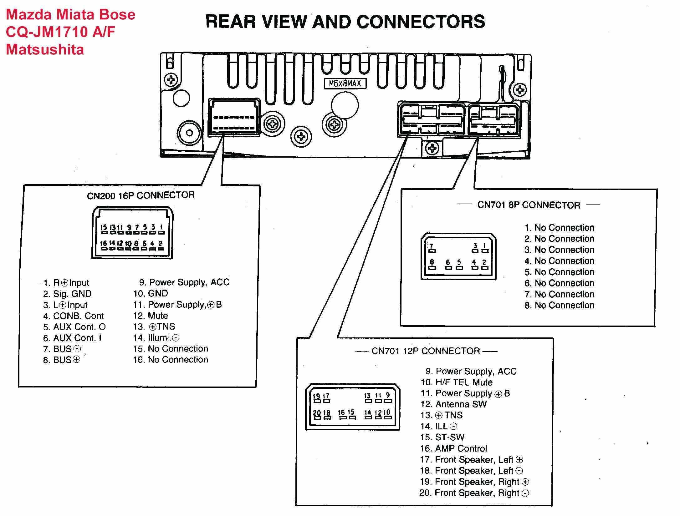 Gallery Of Pioneer Deh 1900mp Wiring Diagram Sample