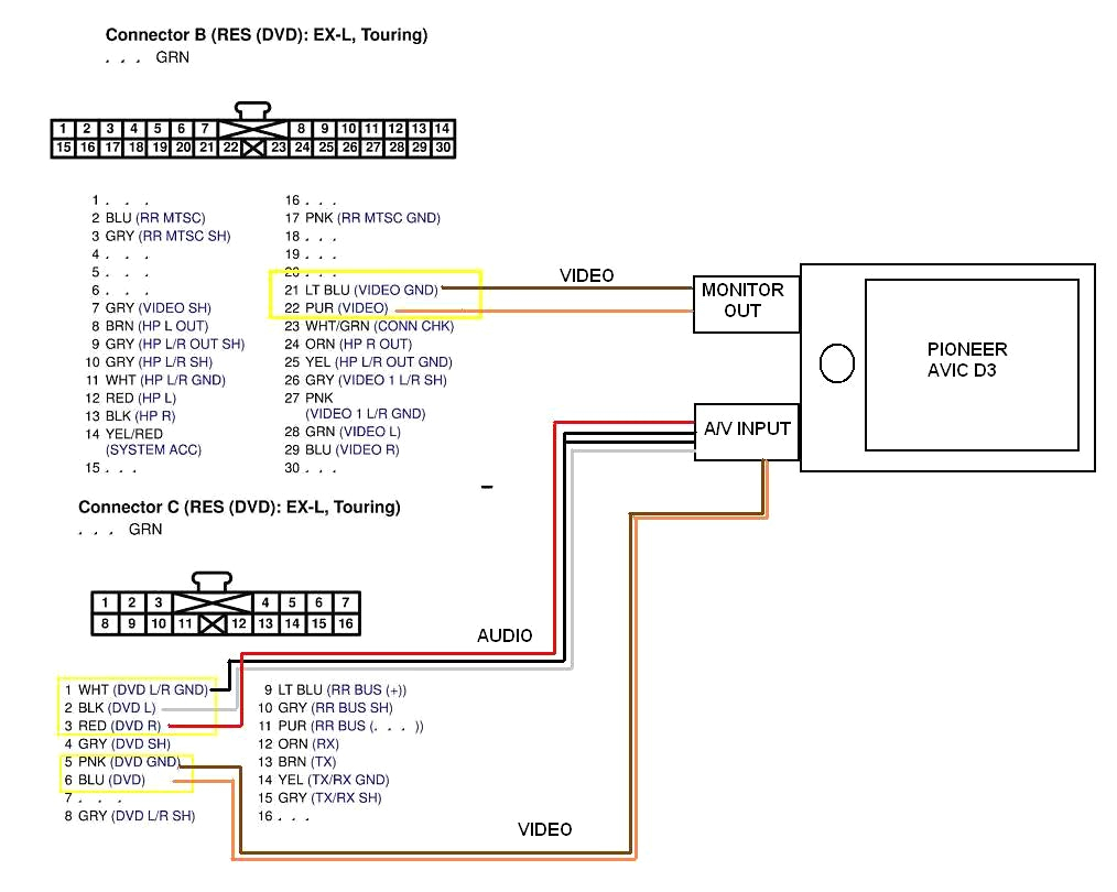 pioneer deh 1900mp wiring diagram Collection-Pioneer Deh P7400mp Wiring Diagram Within 11-g