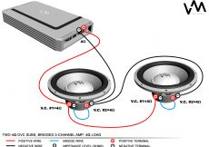 Polk Audio Subwoofer Wiring Diagram - Best Way to Hook Up Two Subs to One Amp 17n