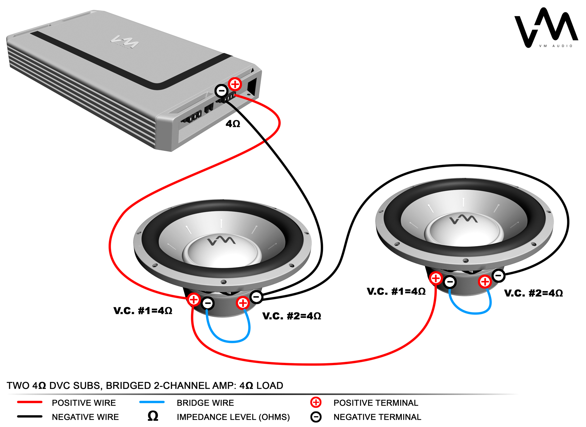 polk audio subwoofer wiring diagram Download-Best way to hook up two subs to one amp 16-d