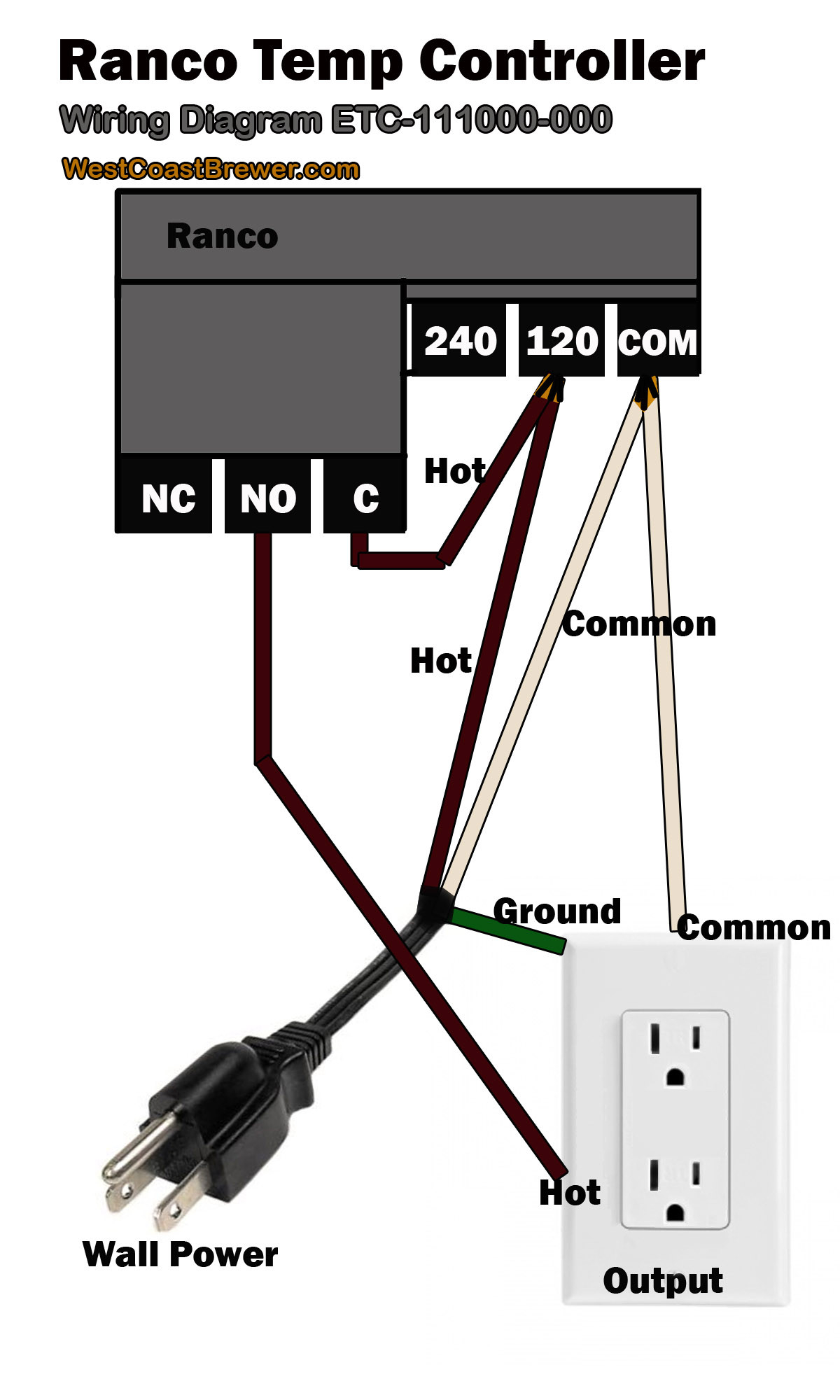 ranco temperature controller wiring diagram Download-How To Wire A Ranco Digital Temperature Controller 120v Best Ideas que Wiring 8-f