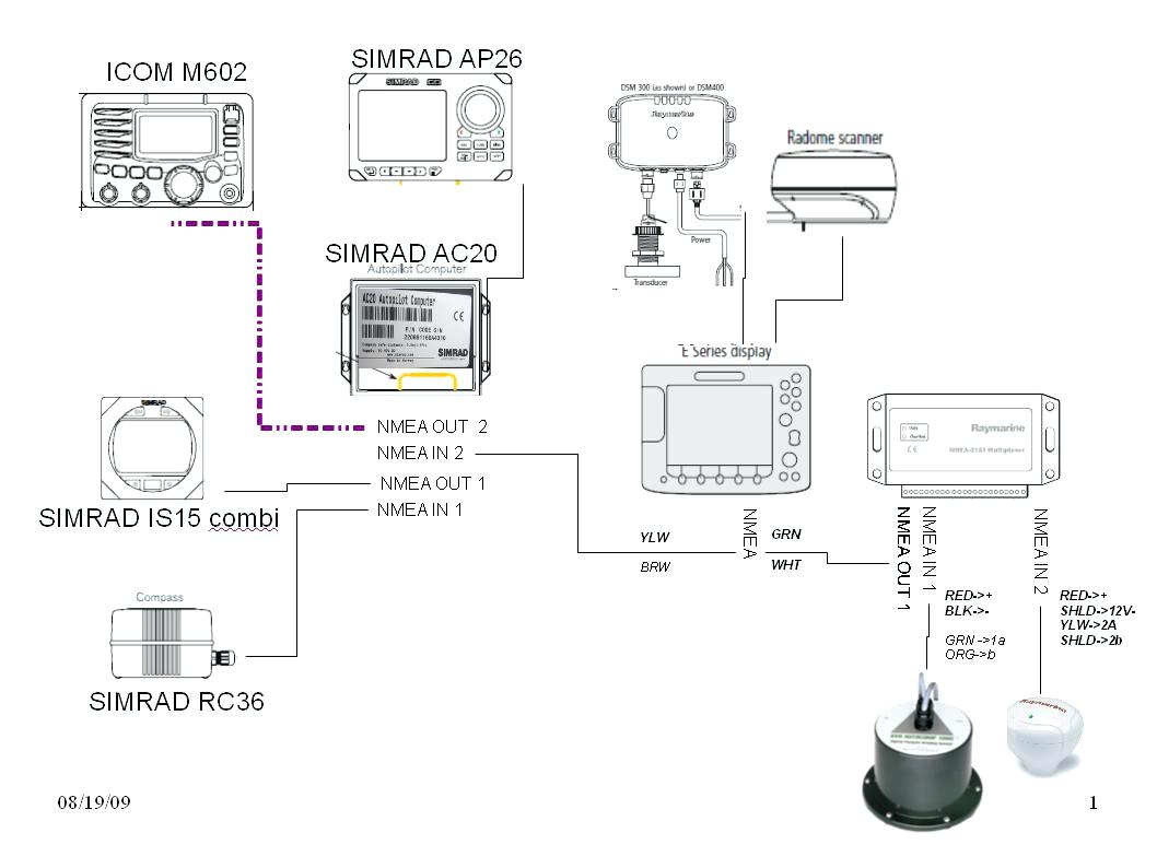 raymarine seatalk wiring diagram Download-Raymarine Seatalk Wiring Diagram Unique Wiring Diagram for thermostat to Furnace Diagrams Raymarine 17-e