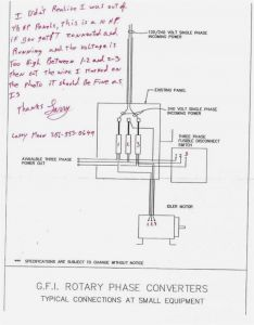 Rotary Phase Converter Wiring Diagram - Ronk Phase Converter Wiring Diagram 7 4j