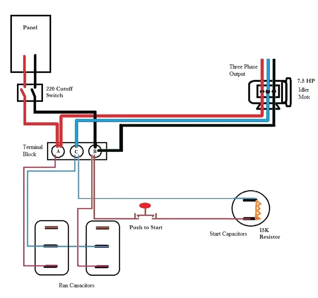 roto phase converter wiring diagram Collection-roto phase converter wiring diagram Download Ronk Phase Converter Wiring Diagram 1 7 c DOWNLOAD Wiring Diagram Sheets Detail Name roto phase converter 13-p