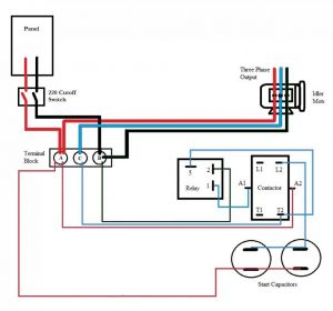 Roto Phase Converter Wiring Diagram - Static Phase Converter Wiring Diagram 4s