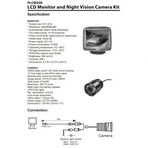 Safety Vision Camera Wiring Diagram - Specifications Diagram 10j