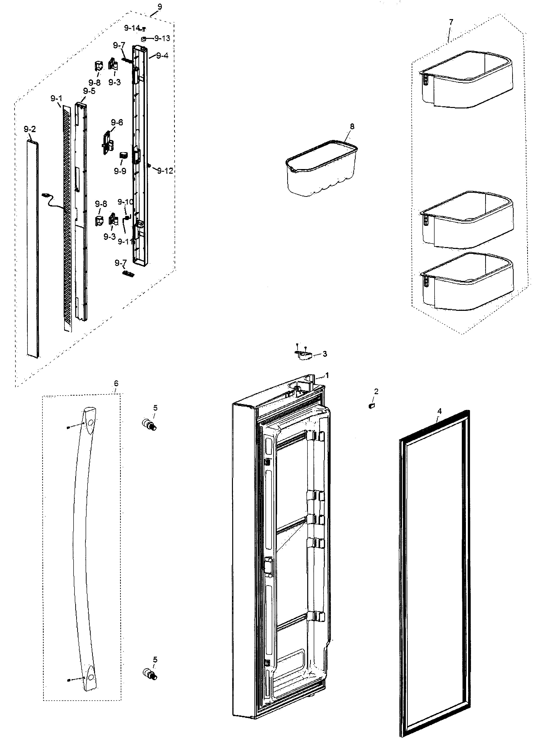Collection Of Samsung Refrigerator Wiring Diagram Sample