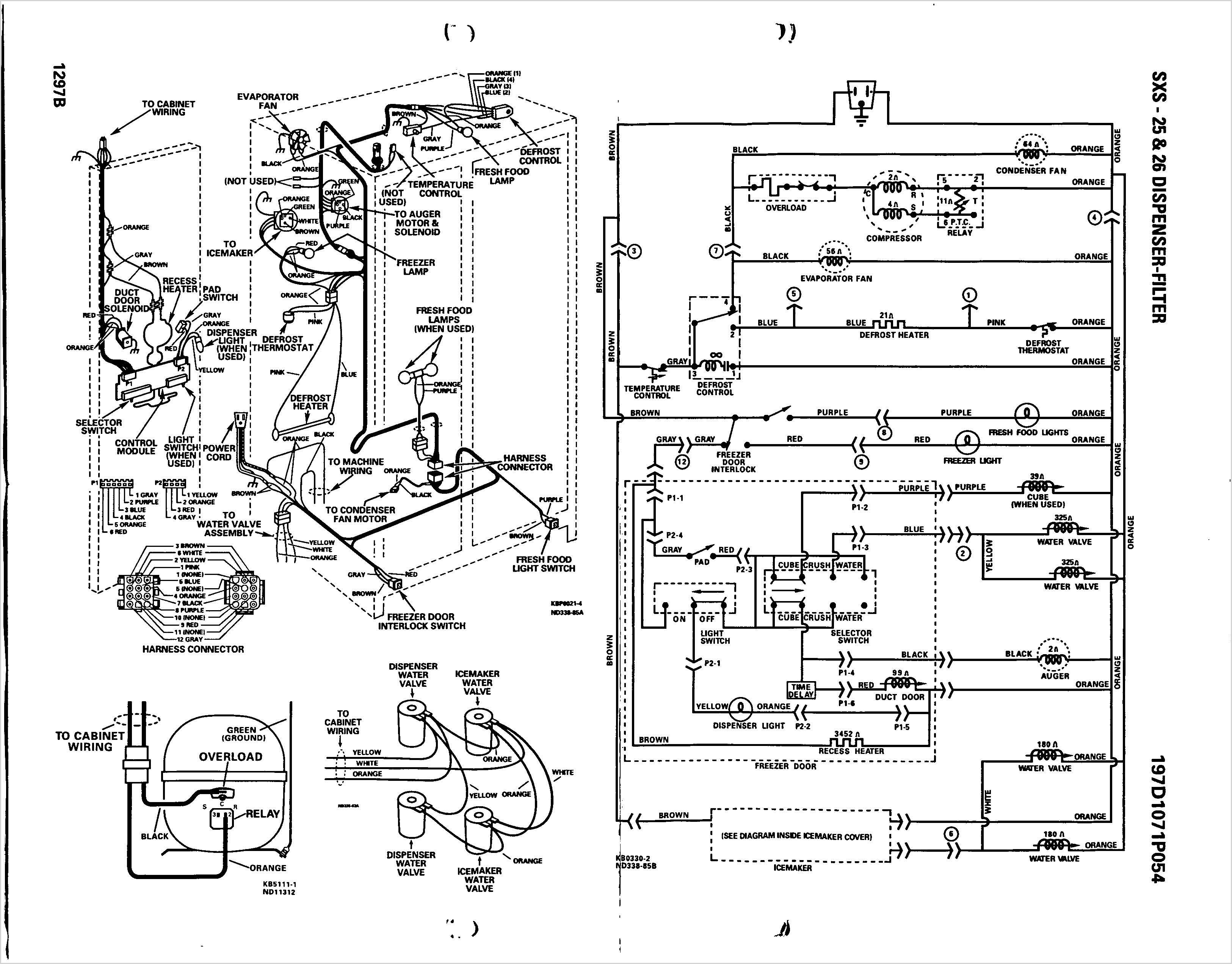 samsung refrigerator wiring diagram Download-Wiring Diagram Appliance Dryer Fresh Amana Dryer Wiring Diagram New Ge Refrigerator Also 5-j