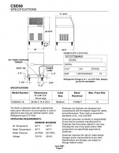Scotsman Ice Machine Wiring Diagram - Scotsman Ice Machine Wiring Diagram Best Service Manual Cse60 1b