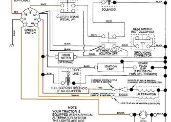Sears Lawn Tractor Wiring Diagram - Craftsman Riding Mower Electrical Diagram 10i