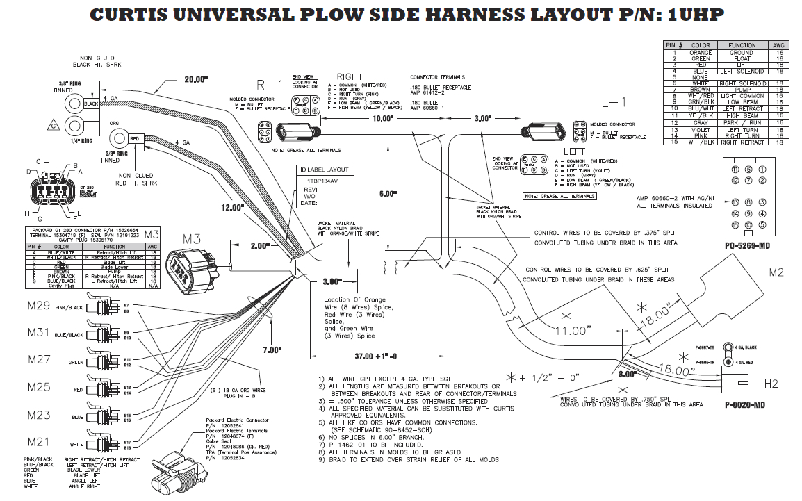 straight blade snowdogg plow wiring diagram