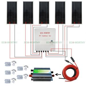 Solar Combiner Box Wiring Diagram - 5pcs 100w 12v solar Panel 6 String Pv Biner Box for Car Rv Boat Home System solar Generators In solar Water Heater Parts From Home Appliances On 2e