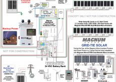 Solar Micro Inverter Wiring Diagram - Ac Coupling 6b