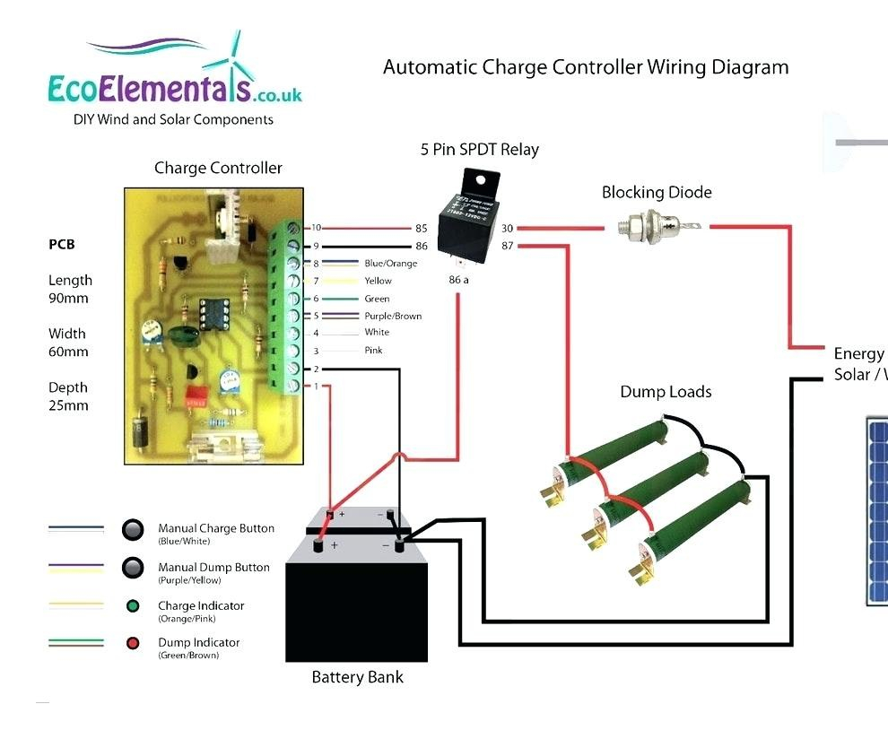 Find Out Here Solar Panel Charge Controller Wiring Diagram