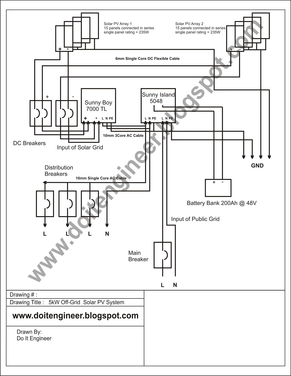 solar panel wiring diagram Collection-solar system wiring diagram Download Wiring Diagram For f Grid Solar System Refrence 5kw F DOWNLOAD Wiring Diagram Detail Name solar system 12-l