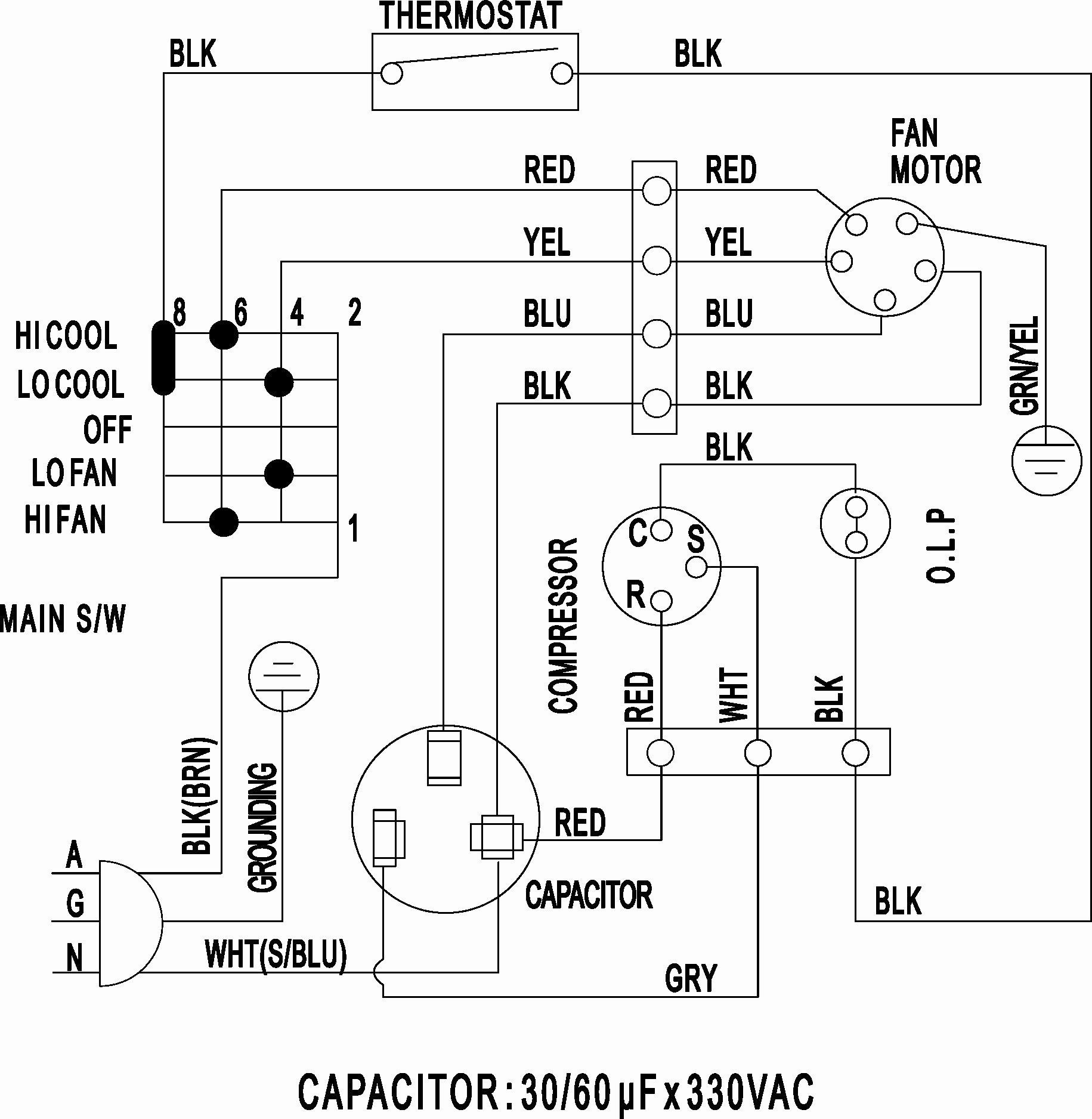 thermocore split system wiring diagram split air conditioner wiring diagram sample