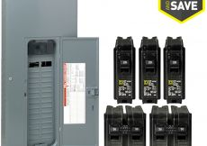 Square D Breaker Box Wiring Diagram - Square D Homeline 60 Circuit 30 Space 200 Amp Main Breaker Plug 11o